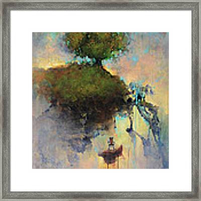 The Hiding Place Framed Print by Joshua Smith