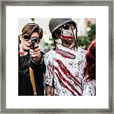 The Kill Team Framed Print by Stwayne Keubrick