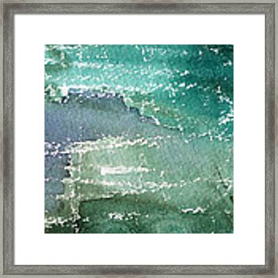 The Shallow End Framed Print