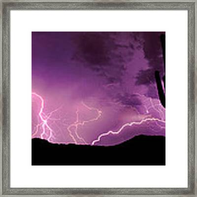 The Show Framed Print by Brad Brizek