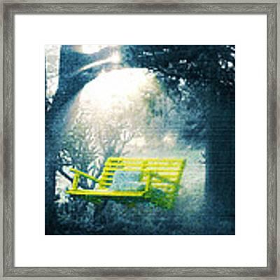 The Yellow Swing Framed Print by Douglas MooreZart