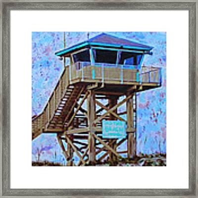 To The Beach Framed Print by Deborah Boyd