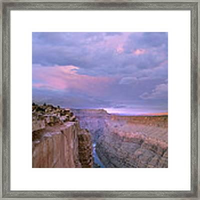 Toroweap Overlook Grand Canyon Nparizona Framed Print by Tim Fitzharris