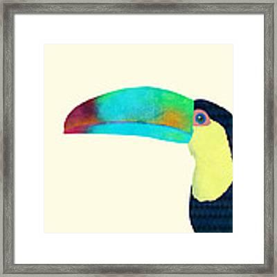 Toucan Framed Print by Eric Fan