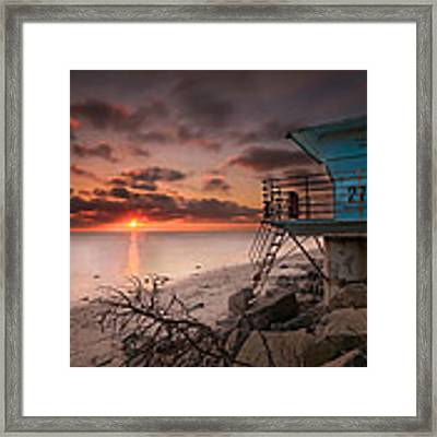 Tower 27 Framed Print by Larry Marshall