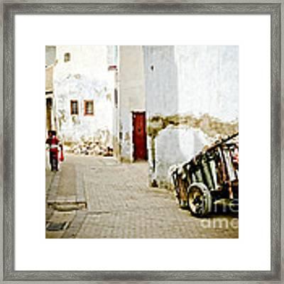 Tunisian Girl Framed Print by John Wadleigh