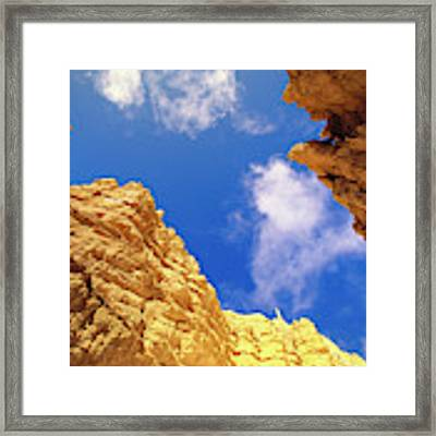 View From Of Bryce Canyon Framed Print by Yva Momatiuk John Eastcott