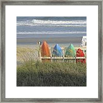 Waiting Framed Print by Ralph Jones