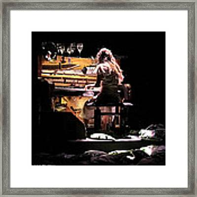 Weird Live Piano Framed Print by Stwayne Keubrick