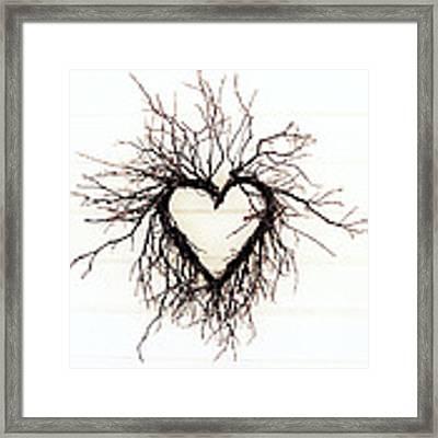 Wild Heart Framed Print by Lupen  Grainne
