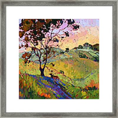 Wind In The Wisp Framed Print