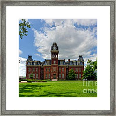 Woodburn Hall Early Afternoon Summer Day Framed Print by Dan Friend
