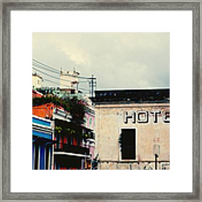 Old San Juan Puerto Rico Framed Print by Kim Fearheiley