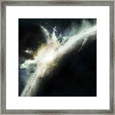 A Planet Pushed Out Of Its Orbit Framed Print by Tomasz Dabrowski