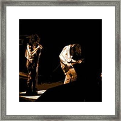 Aerosmith In Spokane 19a Framed Print by Ben Upham