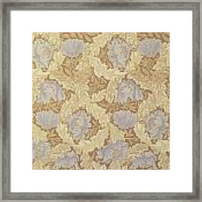 Bower Wallpaper Design Framed Print