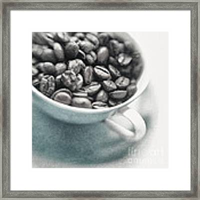 Caffeine Framed Print by Priska Wettstein