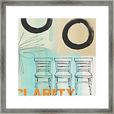 Clarity Framed Print