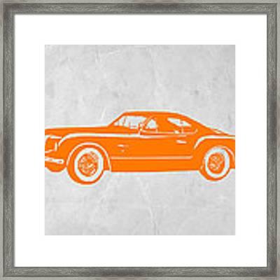Classic Car 2 Framed Print by Naxart Studio
