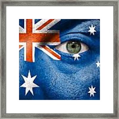 Go Australia Framed Print