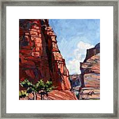 Horse Canyon Framed Print