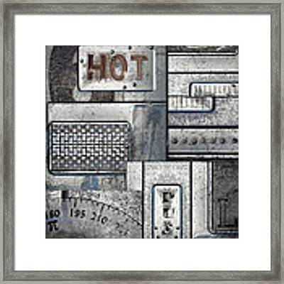 Hot Here Framed Print