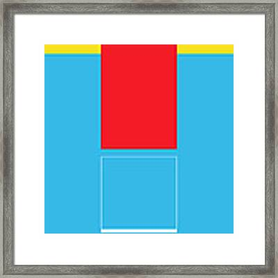Lode Framed Print