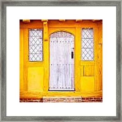 Medieval House Framed Print