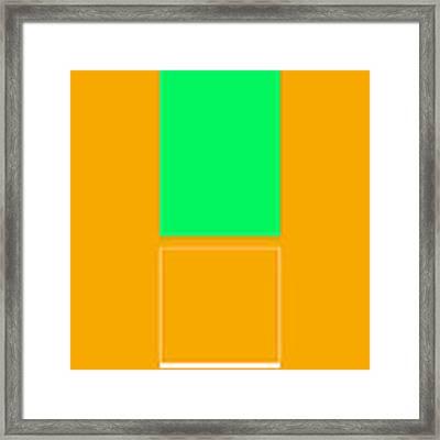 Mopu Framed Print