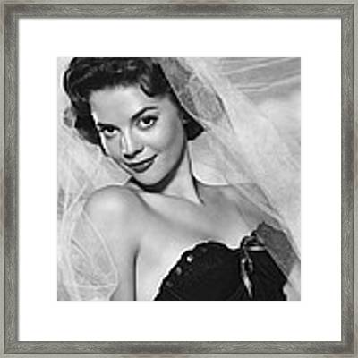 Natalie Wood, Warner Brothers, 1950s Framed Print by Everett