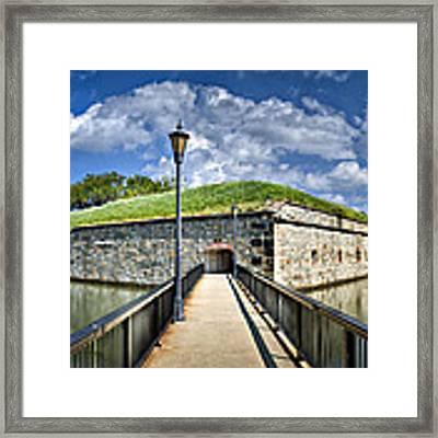 Postern Gate Bridge Framed Print by Williams-Cairns Photography LLC