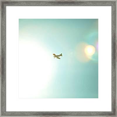 Sky High Framed Print by Kim Fearheiley