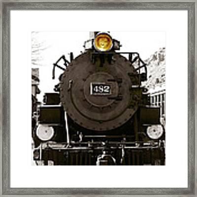 The 482 Durango To Silverton Framed Print by Lorraine Devon Wilke