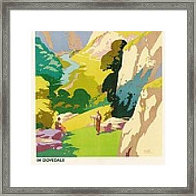 The Derbyshire Dales Framed Print by Frank Sherwin