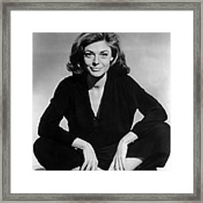 The Graduate, Anne Bancroft, 1967 Framed Print by Everett