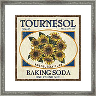 Tournesol Baking Soda Framed Print