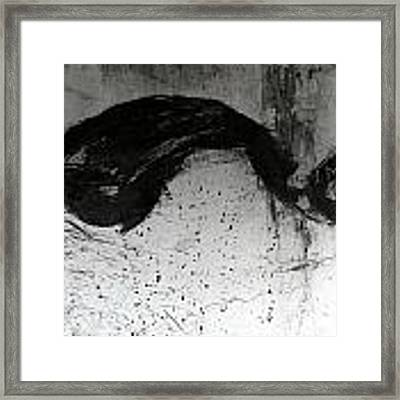 Wall Texture Number 1 Framed Print