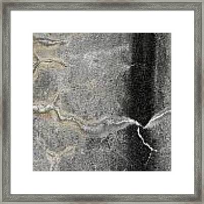 Wall Texture Number 4 Framed Print