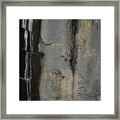 Wall Texture Number 5 Framed Print