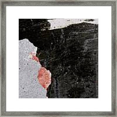 Wall Texture Number 6 Framed Print