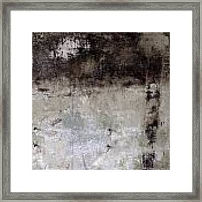 Wall Texture Number 8 Framed Print