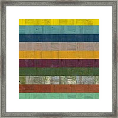 Wooden Abstract Ll Framed Print