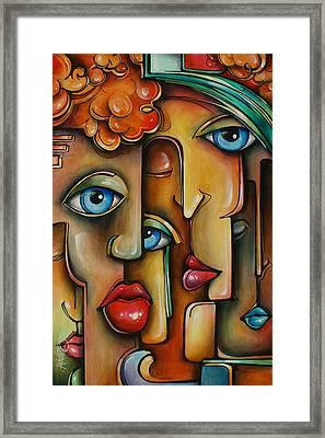 ' Blend ' Framed Print by Michael Lang