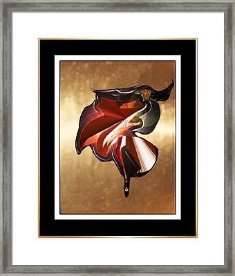 ' Spanish Dancer ' Framed Print