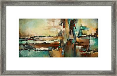 ' The Border ' Framed Print by Michael Lang