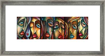 ' The View ' Framed Print by Michael Lang
