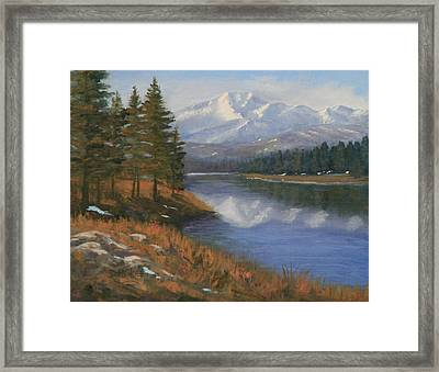 100304-1114 Treasured Moments Framed Print by Donna Heikes