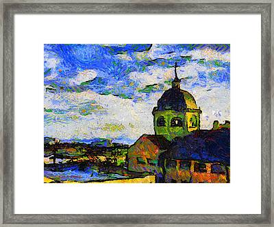 # 108 Tribute To Vincent The Dome Cinema Worthing Uk Framed Print by Alan Armstrong