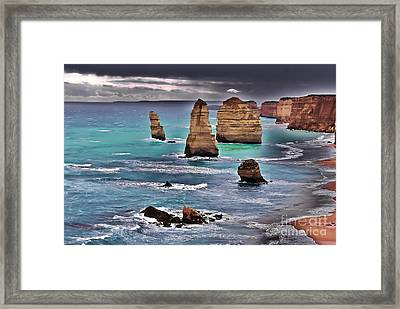 12 Apostles Framed Print by Blair Stuart
