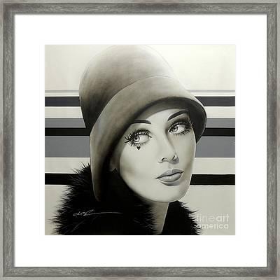 1968 Framed Print
